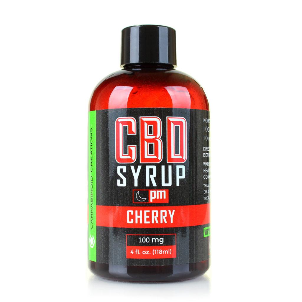 Cbd Syrup Cherry Pm Cannabinoid Creations Cbd Sleep Aid