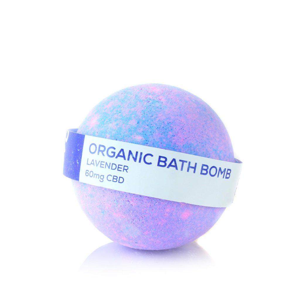 Lavender Cbd Bath Bomb 60 Mg Cbd Living Shop Cbd Natural Skin