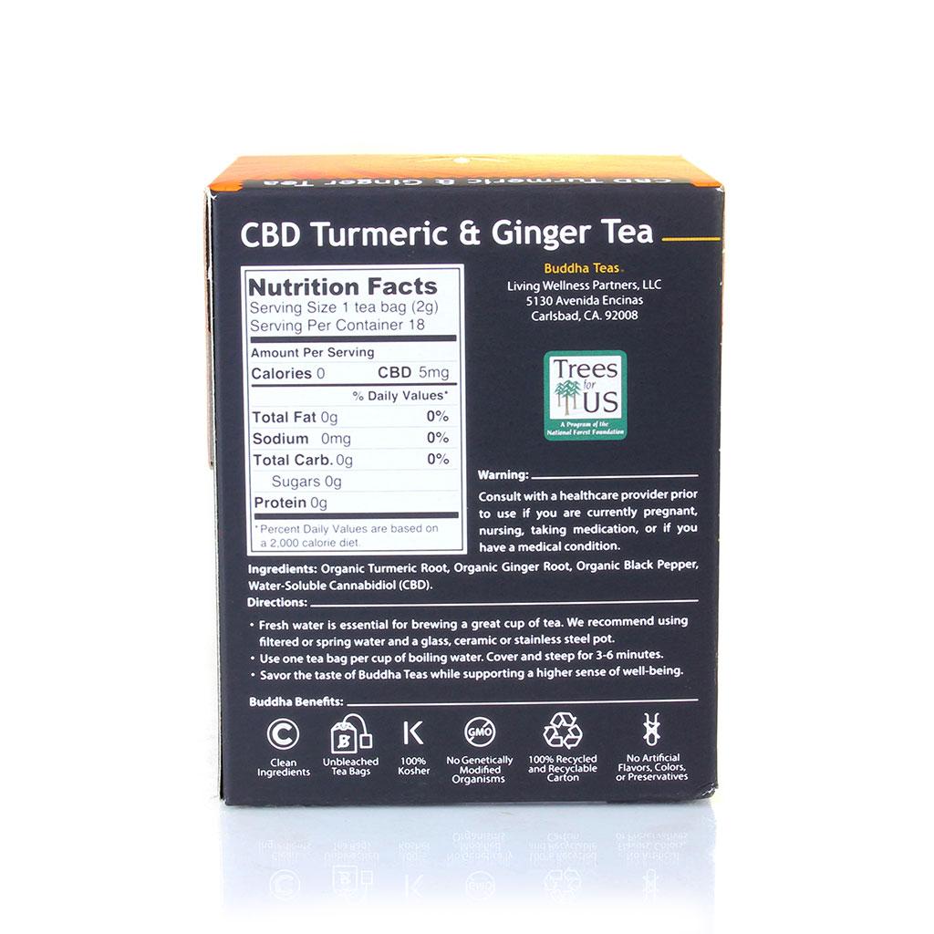 CBD Tea | Turmeric & Ginger