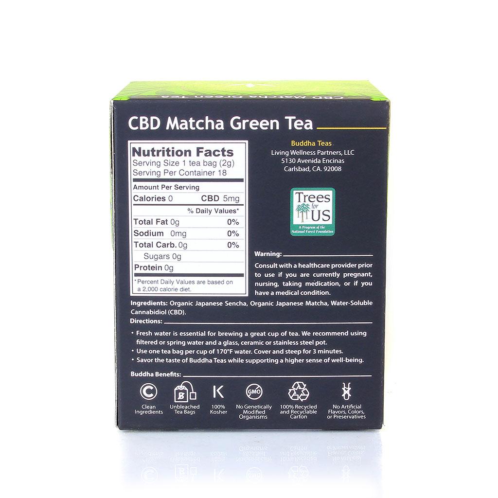 CBD Tea | Matcha Green