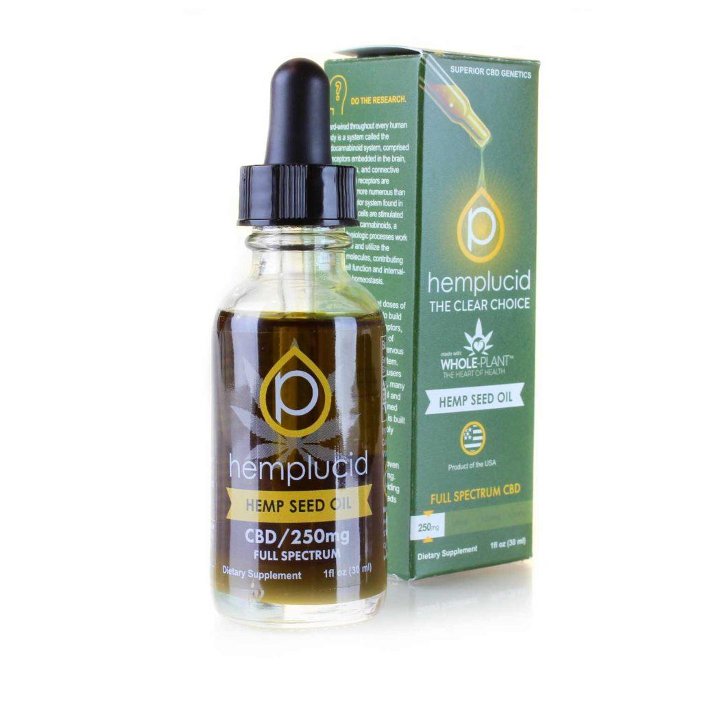 CBD Tincture   Hemp Seed Oil
