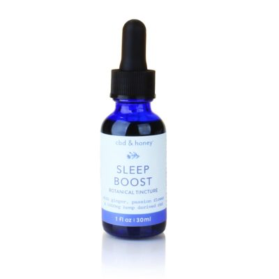 CBD Tincture <br/> Sleep Boost