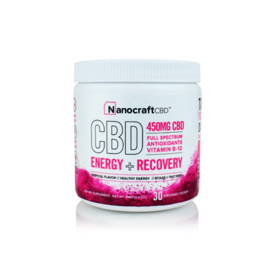 CBD Supplement Powder <br/> Energy & Recovery