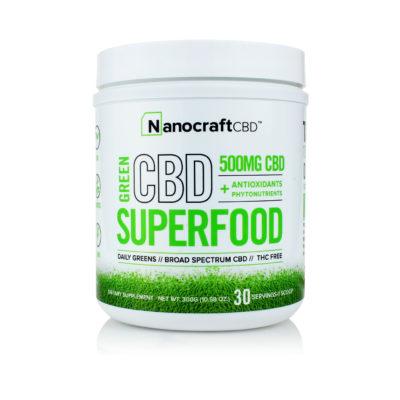 CBD Supplement Powder <br/> Superfood Green